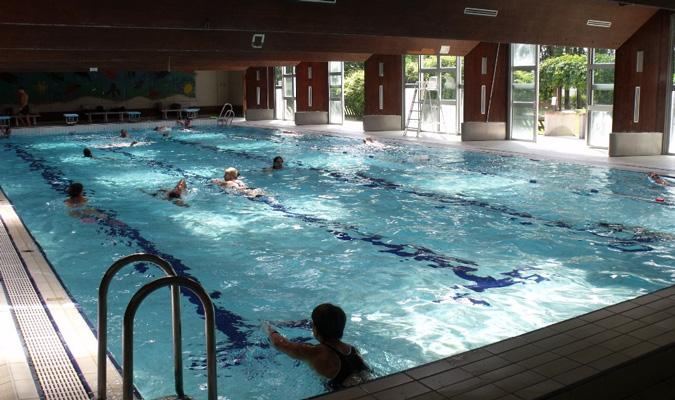 piscine banque de france bougival